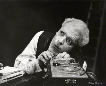NPG x127341; Patrick Magee as Krapp in 'Krapp's Last Tape' by Ida Kar